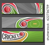 Vector Banners For Cricket Gam...
