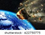 3d rendering of a swarm of... | Shutterstock . vector #622750775