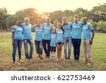 group of diversity people... | Shutterstock . vector #622753469