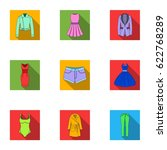 collection of icons of womens... | Shutterstock .eps vector #622768289