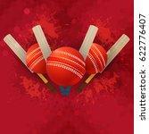 cricket poster background ...   Shutterstock .eps vector #622776407