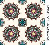 seamless oriental pattern.... | Shutterstock . vector #622819601