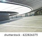 unique modern parking building. | Shutterstock . vector #622826375