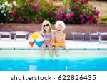 kids playing at outdoor... | Shutterstock . vector #622826435