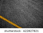 asphalt background texture with ... | Shutterstock . vector #622827821