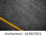 asphalt background texture with ... | Shutterstock . vector #622827821