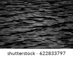 Black And White Water Wave...