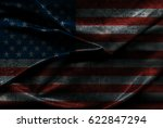 usa flag background | Shutterstock . vector #622847294