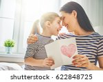 happy mother's day  child... | Shutterstock . vector #622848725