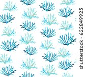 watercolor seamless pattern.... | Shutterstock . vector #622849925