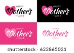 happy mothers day vector... | Shutterstock .eps vector #622865021
