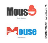 mouse rat logo icon symbol | Shutterstock .eps vector #622869875