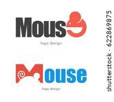 mouse rat logo icon symbol | Shutterstock .eps vector #622869875