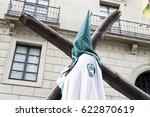 holy week procession  detail of ... | Shutterstock . vector #622870619