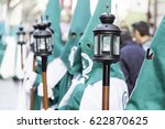 holy week procession  detail of ... | Shutterstock . vector #622870625