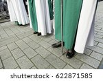 holy week procession  detail of ... | Shutterstock . vector #622871585