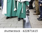 holy week procession  detail of ... | Shutterstock . vector #622871615