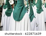 holy week procession  detail of ... | Shutterstock . vector #622871639