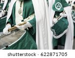 holy week procession  detail of ... | Shutterstock . vector #622871705
