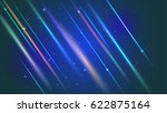 abstract bright motion... | Shutterstock .eps vector #622875164