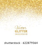 falling glitter confetti.... | Shutterstock .eps vector #622879364