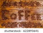coffee theme  coffee beans   Shutterstock . vector #622893641