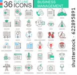 business management modern... | Shutterstock . vector #622895891