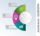 vector illustration. template... | Shutterstock .eps vector #622896944