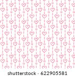 seamless pattern with dots and... | Shutterstock .eps vector #622905581