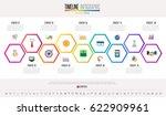 timeline infographics design...   Shutterstock .eps vector #622909961