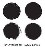grunge circles set.distress...   Shutterstock .eps vector #622913411