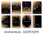heart background with holiday... | Shutterstock . vector #622915295