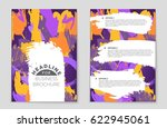abstract vector layout... | Shutterstock .eps vector #622945061