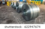 cold rolled steel coils in... | Shutterstock . vector #622947674