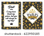 father happy birthday card set  ...   Shutterstock .eps vector #622950185