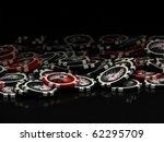 poker chips | Shutterstock . vector #62295709