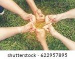 volunteer leader effective is... | Shutterstock . vector #622957895
