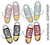 sneakers | Shutterstock .eps vector #622978409