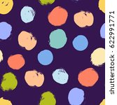 vector seamless pattern.... | Shutterstock .eps vector #622991771