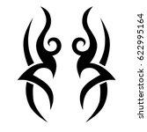 tattoos ideas designs   tribal... | Shutterstock .eps vector #622995164