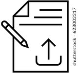 Article Submission Vector Icon