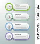 design infographic template 4... | Shutterstock .eps vector #623030567