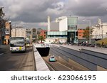 leuven  belgium   october 17 ... | Shutterstock . vector #623066195