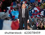 paris  france   april 17  2017  ... | Shutterstock . vector #623078459