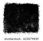 vector grunge banner.grunge... | Shutterstock .eps vector #623079839