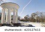 Gazebo Rotunda With Columns On...