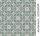 Wicker Seamless Pattern. Baske...