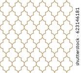 arabic design ornament minimal... | Shutterstock .eps vector #623146181