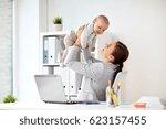 business  motherhood  multi... | Shutterstock . vector #623157455
