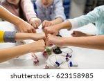 education  children  technology ... | Shutterstock . vector #623158985